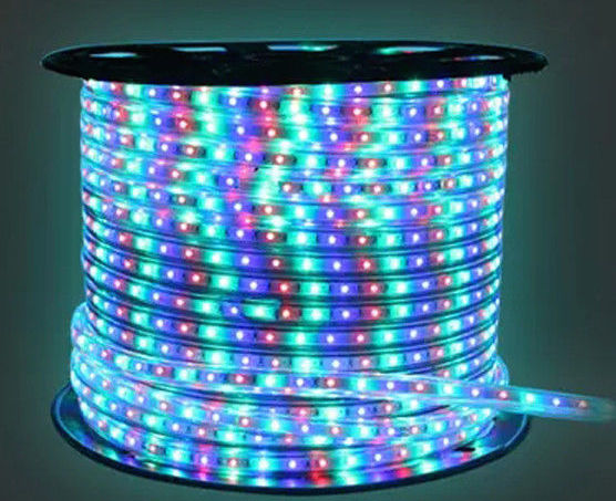 Home mtc canada led light m0117 led rgb rope light 25m 825 feet 5050 smd direct line voltage 100v 265v 60ledm outdoor and indoor use ip66 rgb colour 25 metre825 feet aloadofball Images
